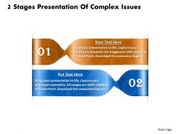 1013 Business Ppt diagram 2 Stages Presentation Of Complex Issues Powerpoint Template