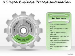 1013 Business Ppt diagram 3 Staged Business Process Automation Powerpoint Template