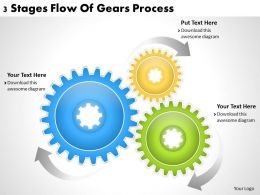 1013_business_ppt_diagram_3_stages_flow_of_gears_process_powerpoint_template_Slide01