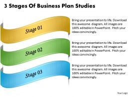1013 Business Ppt diagram 3 Stages Of Business Plan Studies Powerpoint Template