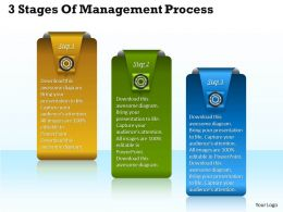 1013 Business Ppt diagram 3 Stages Of Management Process Powerpoint Template