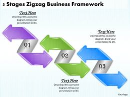 1013_business_ppt_diagram_3_stages_zigzag_business_framework_powerpoint_template_Slide01