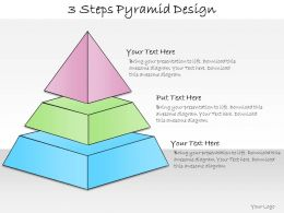 1013 Business Ppt Diagram 3 Steps Pyramid Design Powerpoint Template