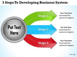 1013_business_ppt_diagram_3_steps_to_developing_business_systems_powerpoint_template_Slide01