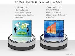 1013_business_ppt_diagram_3d_pedestal_platform_with_images_powerpoint_template_Slide01