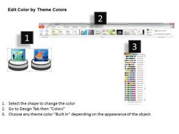 1013 Business Ppt Diagram 3d Pedestal Platform With Images Powerpoint Template