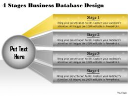 1013_business_ppt_diagram_4_stages_business_database_design_powerpoint_template_Slide02