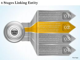 1013_business_ppt_diagram_4_stages_linking_entity_powerpoint_template_Slide04