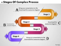 1013 Business Ppt diagram 4 Stages Of Complex Process Powerpoint Template