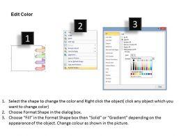 1013 Business Ppt Diagram 4 Stages Parallel Process Flow Diagram Powerpoint Template