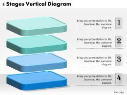 1013 Business Ppt diagram 4 Stages Vertical Diagram Powerpoint Template