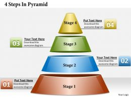 pyramid diagram powerpoint templates and slides, Modern powerpoint