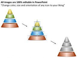 1013 Business Ppt diagram 4 Steps In Pyramid Powerpoint Template