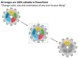 1013 Business Ppt diagram 5 Staged Gear Mechanism Powerpoint Template