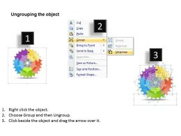 1013 Business Ppt diagram 5 Stages Gears Significant Progress Powerpoint Template