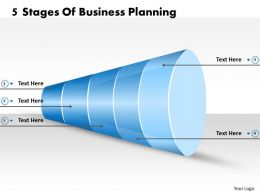 1013 Business Ppt diagram 5 Stages Of Business Planning Powerpoint Template