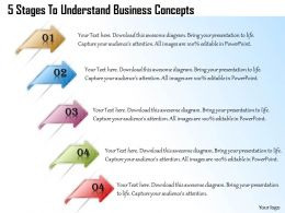 1013 Business Ppt diagram 5 Stages To Understand Business Concepts Powerpoint Template
