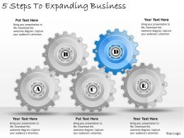 1013 Business Ppt diagram 5 Steps To Expanding Business Powerpoint Template