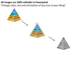 1013 Business Ppt diagram 6 Staged Pyramid Diagram For Technical Information Powerpoint Template