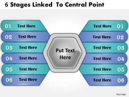 1013_business_ppt_diagram_6_stages_linked_to_central_point_powerpoint_template_Slide01