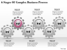 1013 Business Ppt diagram 6 Stages Of Complex Business Process Powerpoint Template