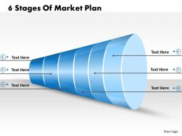 1013 Business Ppt diagram 6 Stages Of Market Plan Powerpoint Template