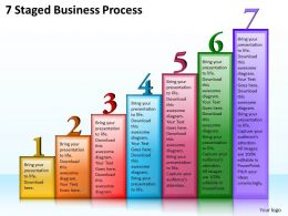 1013 Business Ppt diagram 7 Staged Business Process Powerpoint Template