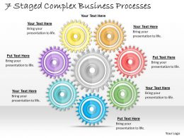 1013 Business Ppt diagram 7 Staged Complex Business Processes Powerpoint Template