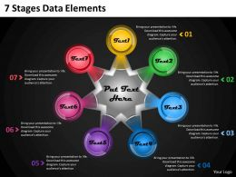 1013 Business Ppt diagram 7 Stages Data Elements Powerpoint Template