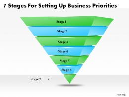 1013 Business Ppt diagram 7 Stages For Setting Up Business Priorities Powerpoint Template
