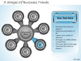 1013 Business Ppt diagram 7 Stages Of Business Trends Powerpoint Template