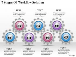 1013 Business Ppt diagram 7 Stages Of Workflow Solution Powerpoint Template