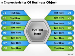 1013_business_ppt_diagram_8_characteristics_of_business_object_powerpoint_template_Slide01