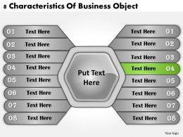 1013 Business Ppt diagram 8 Characteristics Of Business Object Powerpoint Template