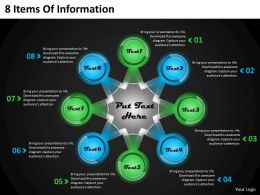 1013 Business Ppt diagram 8 Items Of Information Powerpoint Template