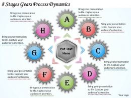 1013 Business Ppt diagram 8 Stages Gears Process Dynamics Powerpoint Template
