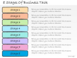 1013 Business Ppt Diagram 8 Stages Of Business Task Powerpoint Template