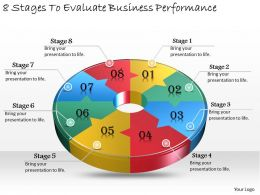 1013 Business Ppt diagram 8 Stages To Evaluate Business Performance Powerpoint Template