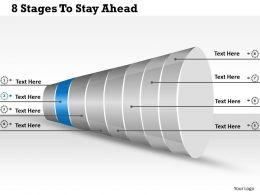 38303064 Style Layered Funnel 8 Piece Powerpoint Presentation Diagram Infographic Slide