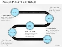 1013 Business Ppt Diagram Annual Plans To Be Followed Powerpoint Template