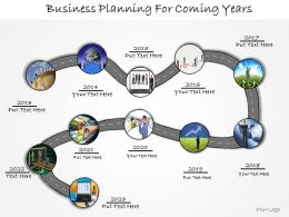 1013 Business Ppt Diagram Business Planning For Coming Years Powerpoint Template
