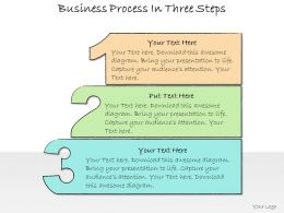 1013 Business Ppt Diagram Business Process In Three Steps Powerpoint Template