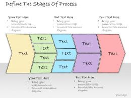 1013 Business Ppt Diagram Define The Stages Of Process Powerpoint Template