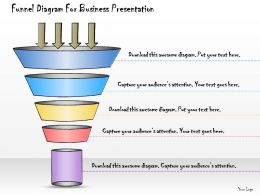 1013 Business Ppt Diagram Funnel Diagram For Business Presentation Powerpoint Template