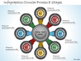 1013 Business Ppt diagram Infographics Circular Process 8 Stages Powerpoint Template