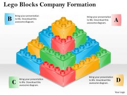 1013 Business Ppt diagram Lego Blocks Company Formation Powerpoint Template