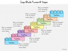 1013 Business Ppt Diagram Lego Blocks Process 8 Stages Powerpoint Template