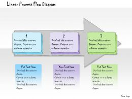 1013 Business Ppt Diagram Linear Process Flow Diagram Powerpoint Template