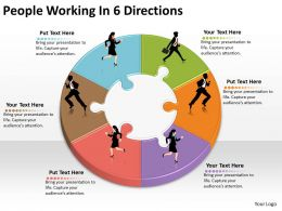1013 Business Ppt diagram People Working In 6 Directions Powerpoint Template