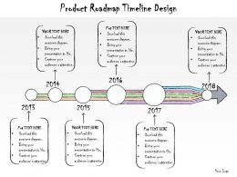 1013 Business Ppt Diagram Product Roadmap Timeline Design Powerpoint Template
